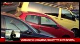 25/05/2016 - Voragine Firenze, i Vigili del Fuoco valutano entità danni