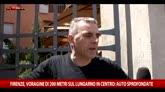 25/05/2016 - Firenze, voragine sul Lungarno: le testimonianze