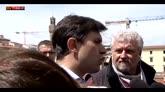 25/05/2016 - Crollo Firenze, Nardella: danni ingenti