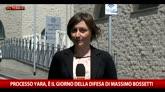 27/05/2016 - Processo Yara, in aula anche la moglie di Bossetti