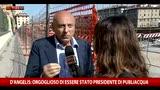 27/05/2016 - D'Angelis: orgolioso di essere stato presidente Publiacqua