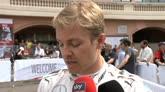 28/05/2016 - Rosberg applaude Ricciardo