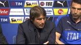 """28/05/2016 - Conte: """"De Rossi c'è. Non rischio Montolivo e Thiago Motta"""""""