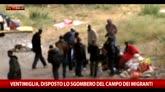 29/05/2016 - Ventimiglia, disposto lo sgombero del campo dei migranti