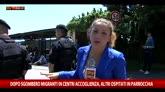 31/05/2016 - Ventimiglia: migranti in parrocchia dopo sgombero, polemica