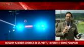 31/05/2016 - Rogo in azienda chimica ex Olivetti, 14 feriti