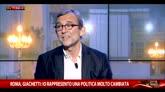 01/06/2016 - Roma, confronto serrato tra i candidati