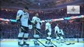 07/06/2016 - Hockey, Stanley Cup: i Metallica suonano l'inno Usa