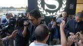 09/06/2016 - L'Italia è arrivata a Montpellier accolta dai tifosi azzurri