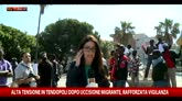Migrante ucciso, protesta dei profughi a San Ferdinando