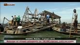 Nigeria, crolla una scuola in villaggio galleggiante