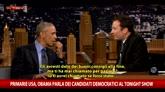 Obama ironizza su Trump al Tonight Show