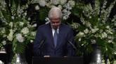 11/06/2016 - Funerali Alì, il saluto di Bill Clinton
