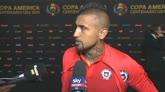 """11/06/2016 - Vidal: """"Il Cile può arrivare in finale"""""""