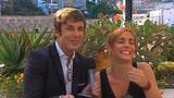 14/06/2016 - Francesco Castelnuovo gioca con Cristiana Dell'Anna