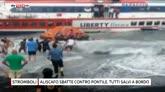16/06/2016 - Affonda aliscafo a Stromboli: in salvo 117 persone