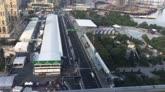 16/06/2016 - F1, il nuovo circuito di Baku visto dall'alto