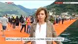 18/06/2016 - Lago di Iseo, inaugurata la passerella di Christo