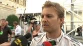 """19/06/2016 - Rosberg: """"Che bella giornata, ero un tutt'uno con l'auto"""""""