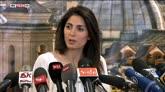 """20/06/2016 - Ballottaggio, Raggi: """"Hanno vinto i cittadini di Roma"""""""