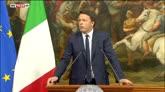 20/06/2016 - Ballottaggi, Renzi: non è voto di protesta ma di cambiamento