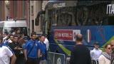 22/06/2016 - Verso l'Irlanda, gli azzurri escono per la rifinitura