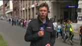 22/06/2016 - Lille, rientrato l'allarme bomba alla sala stampa