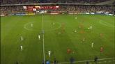 Copa America, un placcaggio da Nfl durante Cile-Colombia