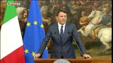 24/06/2016 - Brexit, Renzi: l'Europa è casa nostra