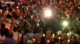 25/06/2016 - Bimba uccisa, fiaccolata e veglia di preghiera