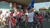 25/06/2016 - Caravaggio-Gorizia, il viaggio in bici di Reja