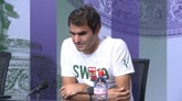 "25/06/2016 - Wimbledon, Federer: ""Djokovic e Murray sono i favoriti"""