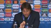"""27/06/2016 - Conte: """"Spagna? Non siamo qui per fare da comparsa"""""""