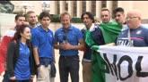 27/06/2016 - Aspettando Italia-Spagna: i tifosi azzurri