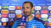"""27/06/2016 - Chiellini: """"Siamo all'inizio. Adesso arriva il difficile"""""""