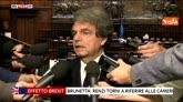 """28/06/2016 - Brexit, Brunetta: """"Renzi venga in Parlamento a riferire"""""""