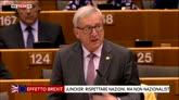 28/06/2016 - Brexit, botta e risposta tra Juncker e Farage