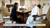 01/07/2016 - Il sindaco di Roma Virginia Raggi incontra Papa Francesco