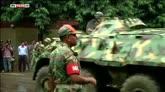 02/07/2016 - Dacca, blitz della polizia per liberare gli ostaggi
