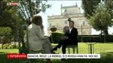 """03/07/2016 - Renzi a Sky Tg24: """"Patto del Nazareno rotto da Forza Italia"""""""