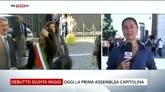 07/07/2016 - Roma, oggi la prima seduta dell'era Raggi
