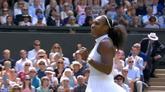 07/07/2016 - Serena asfalta la Vesnina: il meglio della semifinale