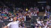 08/07/2016 - Wimbledon 2016: i migliori colpi di Federer vs Raonic
