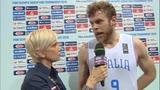 """09/07/2016 - Melli: """"Siamo contenti. Pronti per la Croazia"""""""