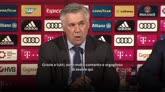 """11/07/2016 - Ancelotti: """"Il Bayern è una squadra fantastica"""""""