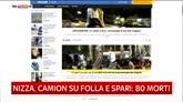 15/07/2016 - Attentato a Nizza, la rassegna stampa