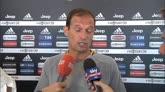 """16/07/2016 - Allegri: """"La squadra deve stare bene tra marzo e aprile"""""""