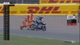 Moto3, Sachsenring. Anche Andrea Migno cade in qualifica