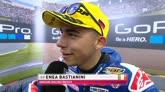"""Moto3, Bastianini: """"Volevo il podio nonostante la pioggia"""""""