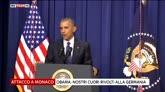 22/07/2016 - Obama: i nostri cuori a vittime di sparatoria a Monaco